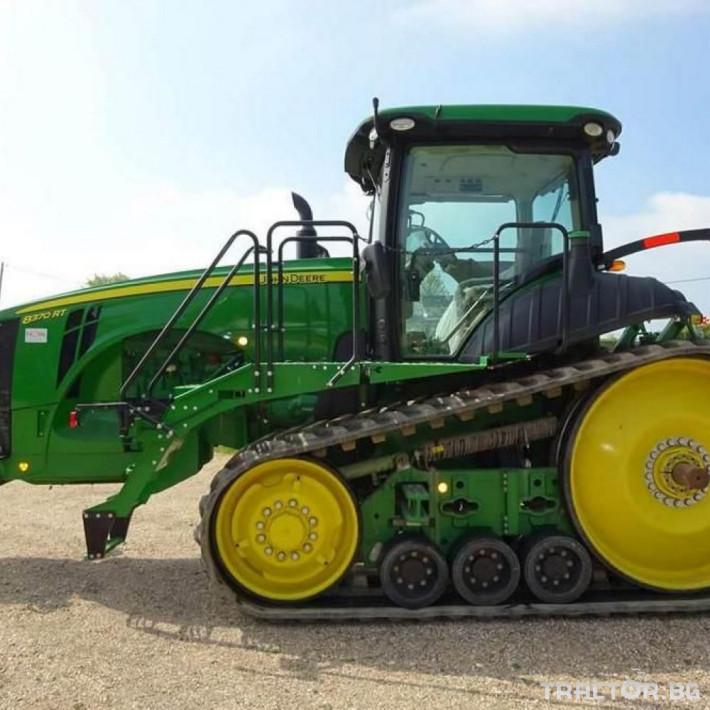 Трактори John-Deere 8370 RT 0 - Трактор БГ