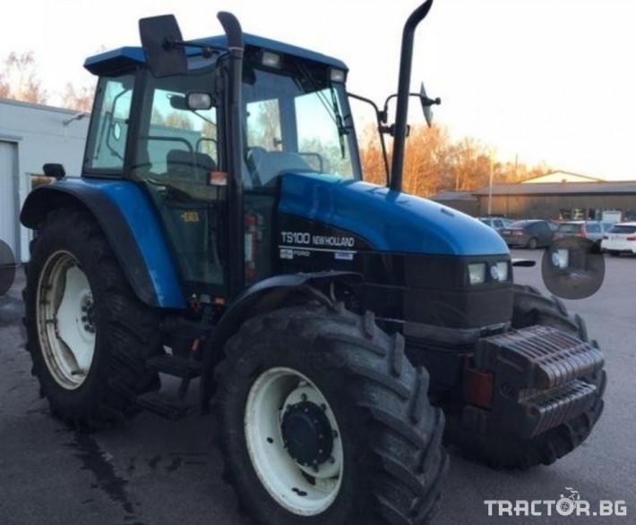 Трактори New-Holland TS 100 1 - Трактор БГ