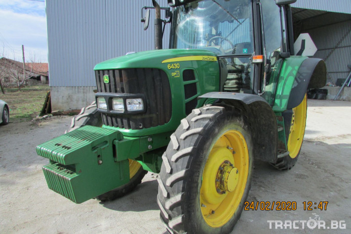 Трактори John-Deere 6430 НАЛИЧЕН 1 - Трактор БГ