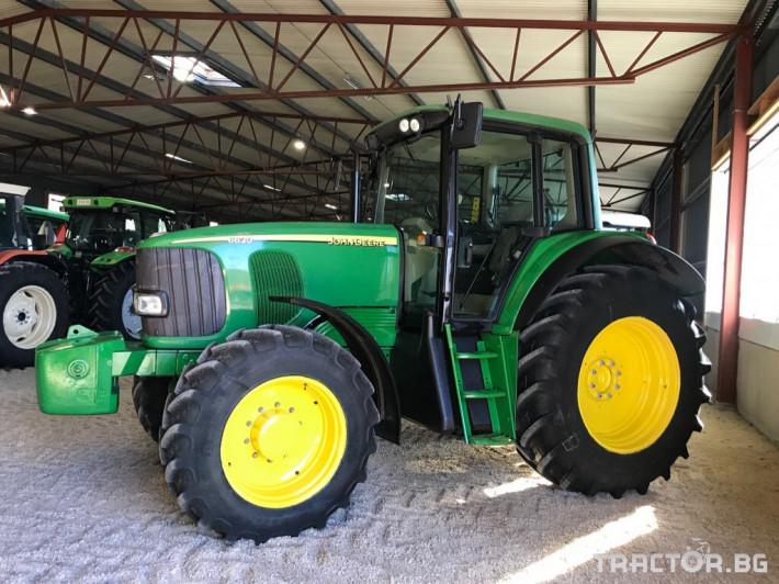 Трактори John-Deere 6820 0 - Трактор БГ