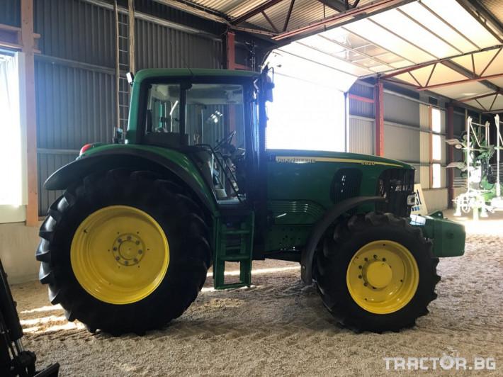 Трактори John-Deere 6820 1 - Трактор БГ