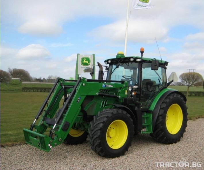 Трактори John-Deere 6105R  AQEco 0 - Трактор БГ