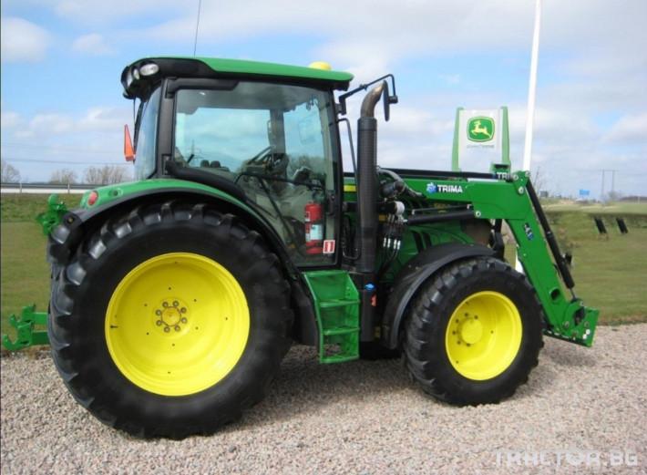 Трактори John-Deere 6105R  AQEco 1 - Трактор БГ
