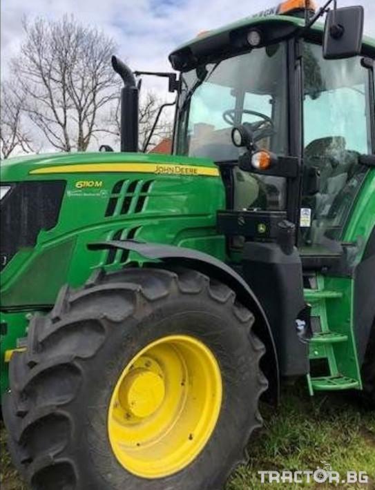 Трактори John-Deere 6110М PQ+ 0 - Трактор БГ