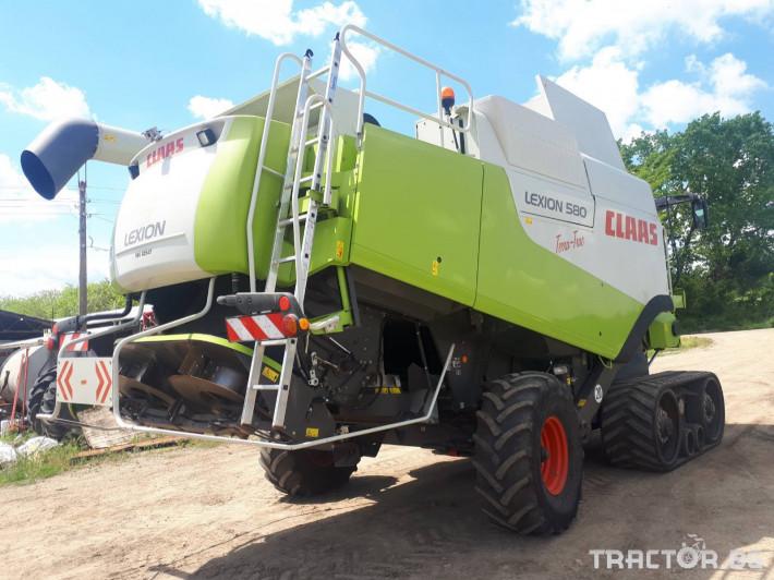 Комбайни Claas Lexion 580 TT НАЛИЧЕН 1 - Трактор БГ