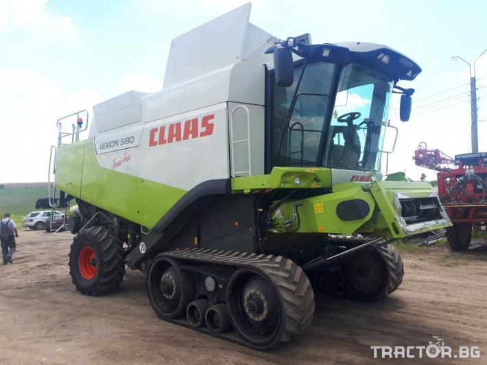 Комбайни Claas Lexion 580 TT НАЛИЧЕН 3 - Трактор БГ