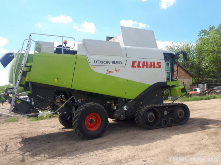 Комбайни Claas Lexion 580 TT НАЛИЧЕН 7 - Трактор БГ