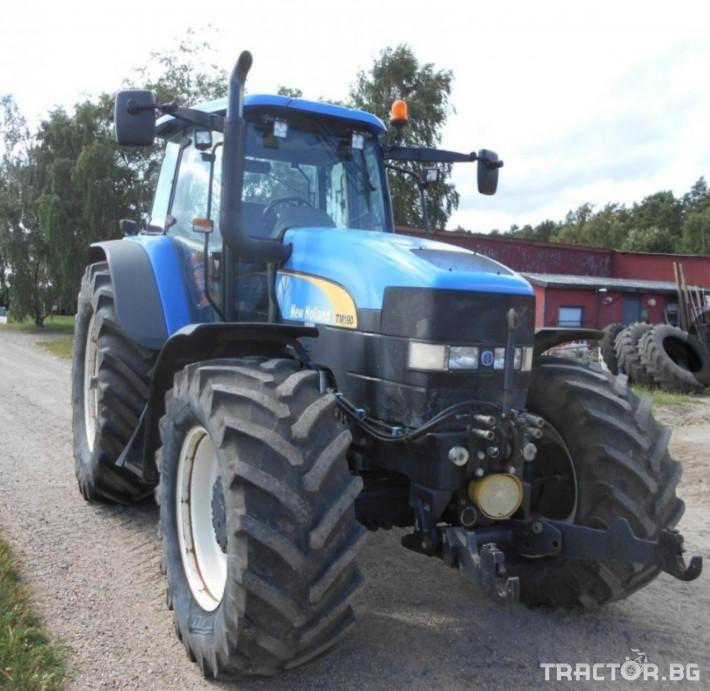 Трактори New-Holland TM 190 1 - Трактор БГ