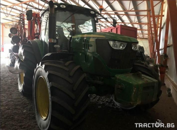 Трактори John-Deere 6140R AQ ECO SHIFT 0 - Трактор БГ