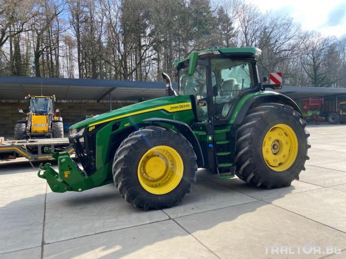 Трактори John-Deere 8R 410 E23 Power Shift 0 - Трактор БГ