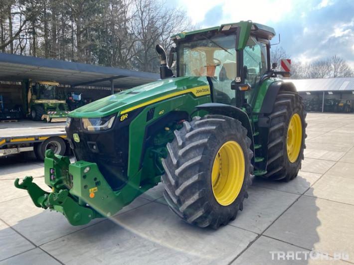 Трактори John-Deere 8R 410 E23 Power Shift 12 - Трактор БГ
