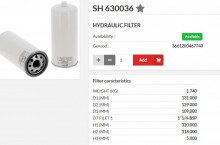 HIFI FILTER SH630036
